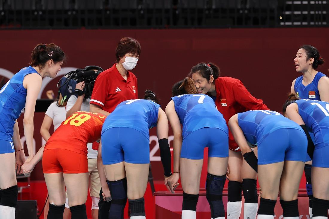東京奧運-感人瞬間-中國女排01