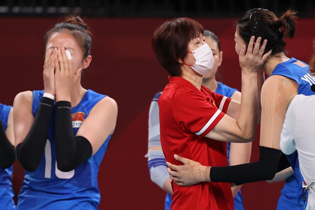 東京奧運-感人瞬間-中國女排02