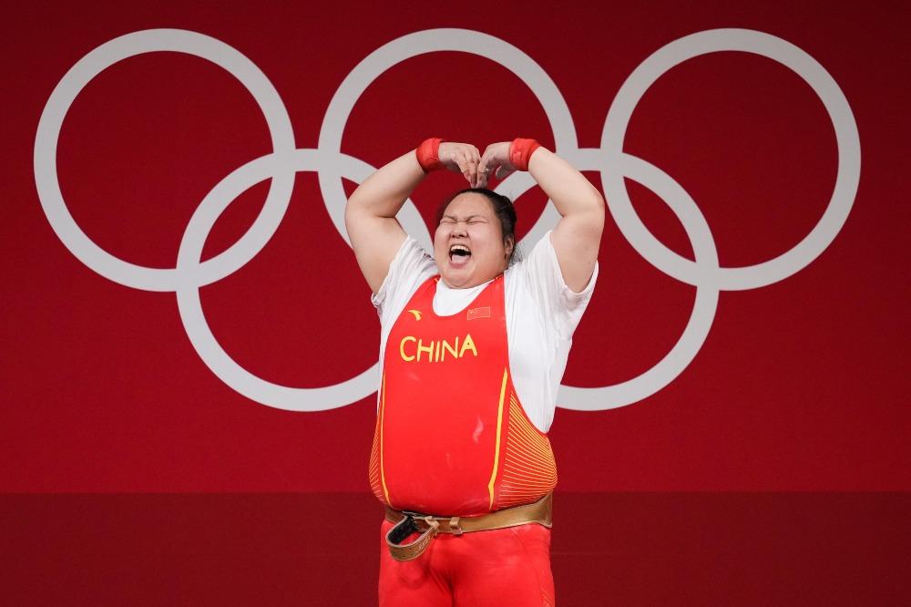 東京奧運-舉重87公斤-李雯雯