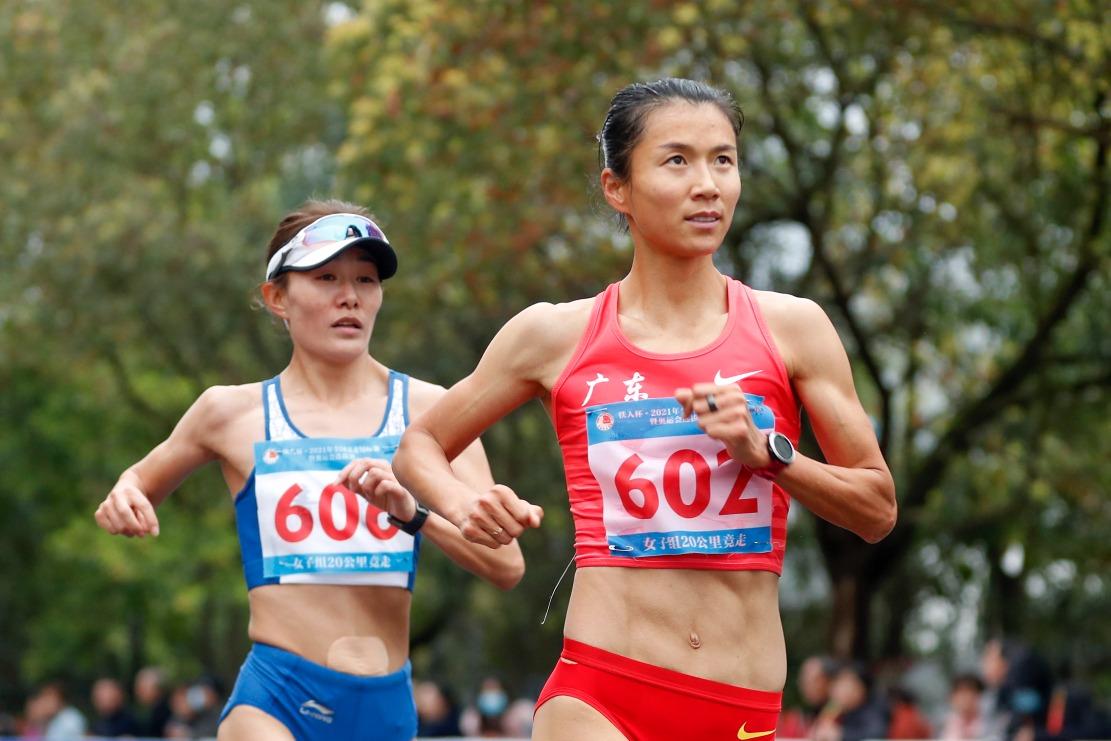 東京奧運-20公里競走-劉虹