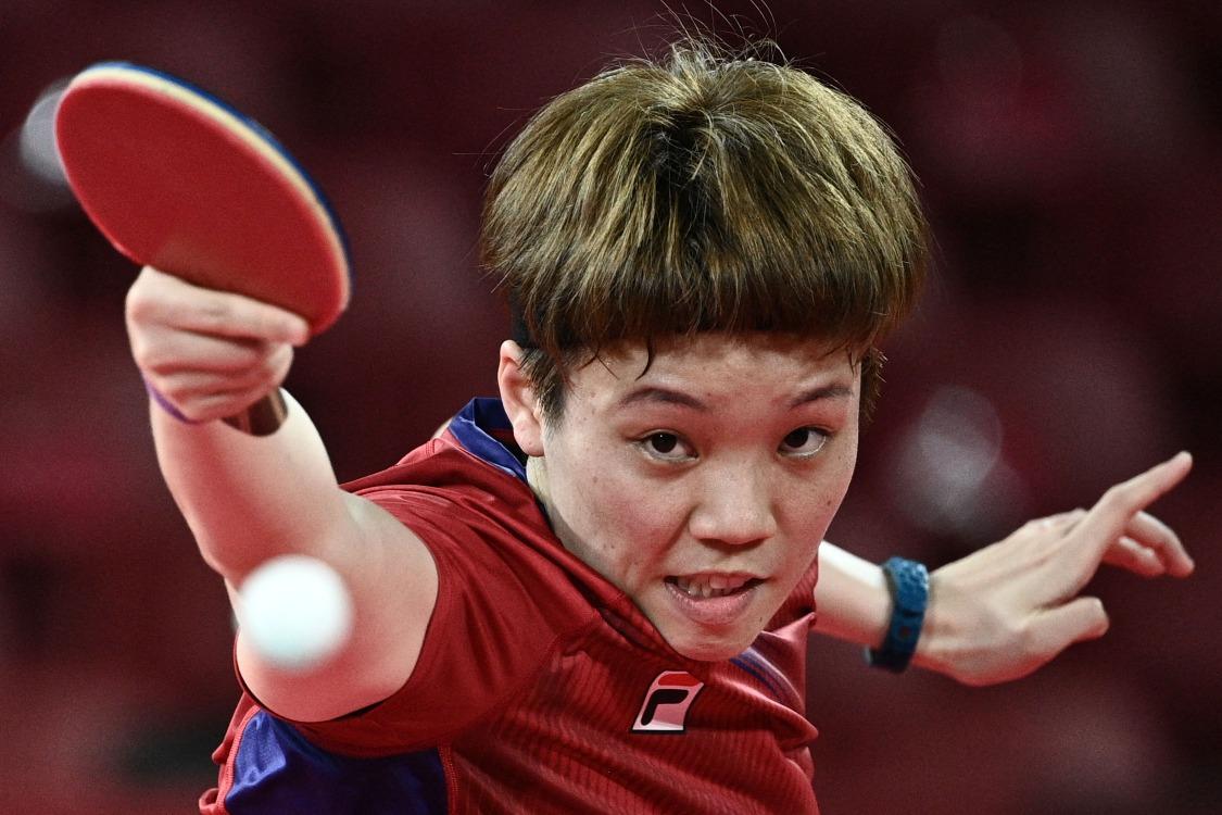 當代中國-體育運動-乒乓女團闖奧運4強 港產女將為香港創歷史