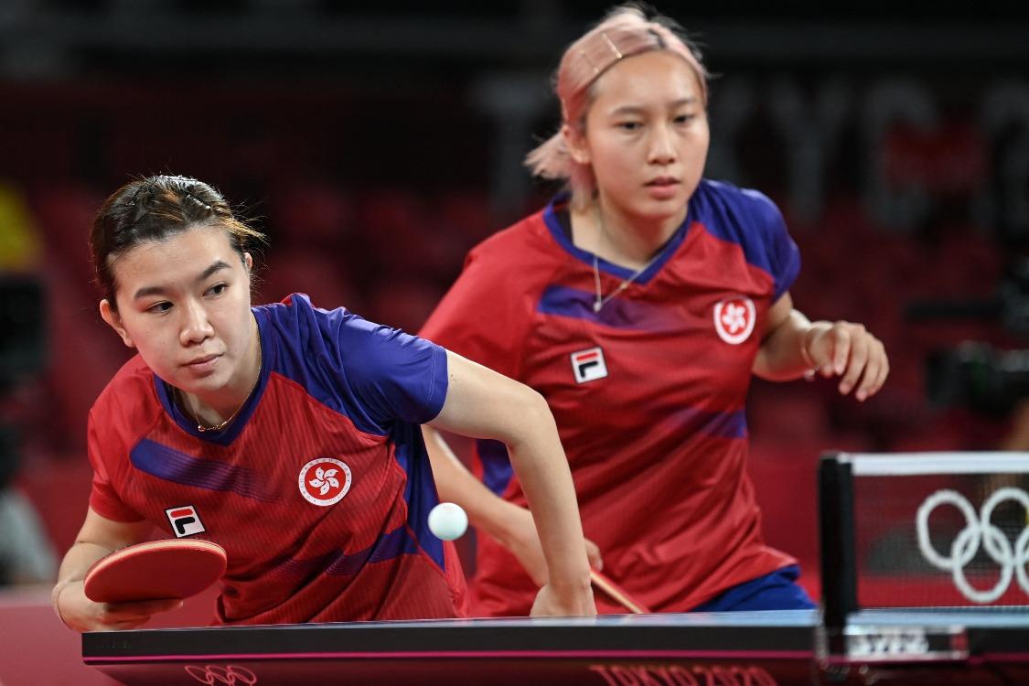 當代中國-體育運動-乒乓女團闖奧運4強 港產小將為香港創歷史