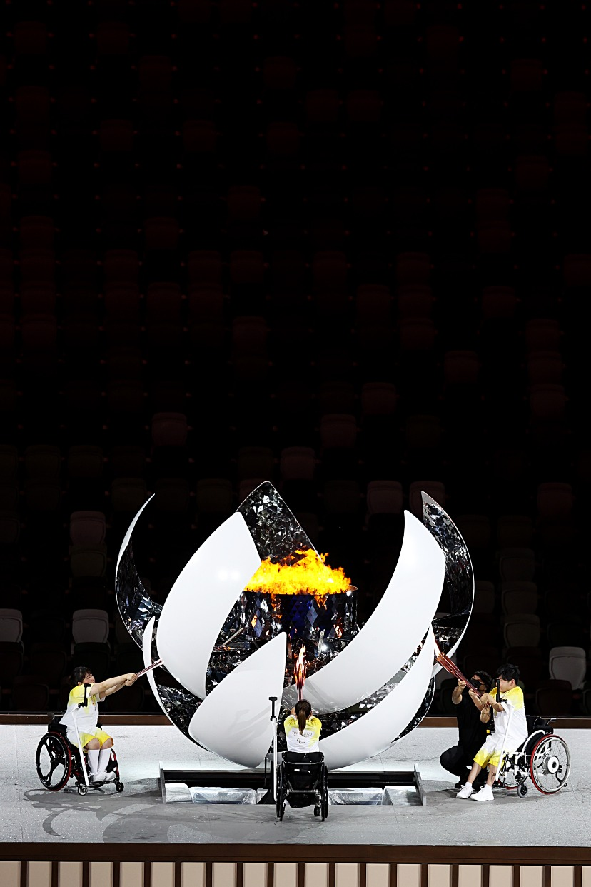 體育運動-殘奧開幕1