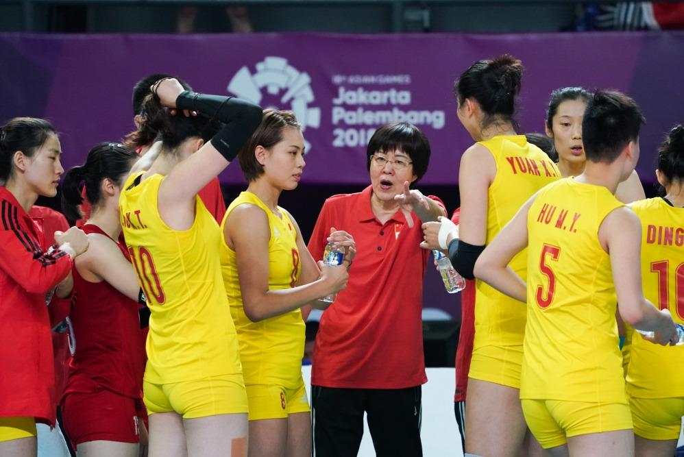當代中國-今日焦點-體育運動-郎平離任
