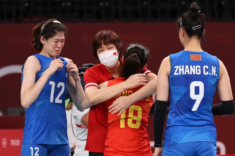當代中國-今日焦點-體育運動-郎平離任06