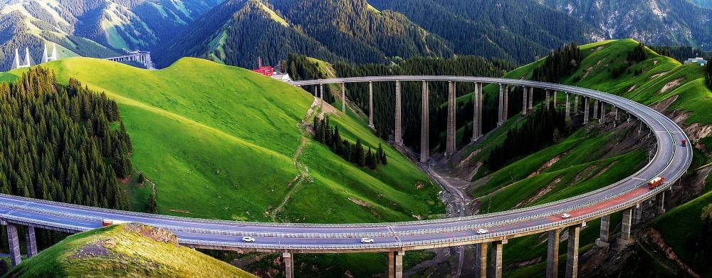當代中國-中國高速公路里程