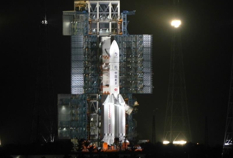 當代中國-嫦娥五號升空01