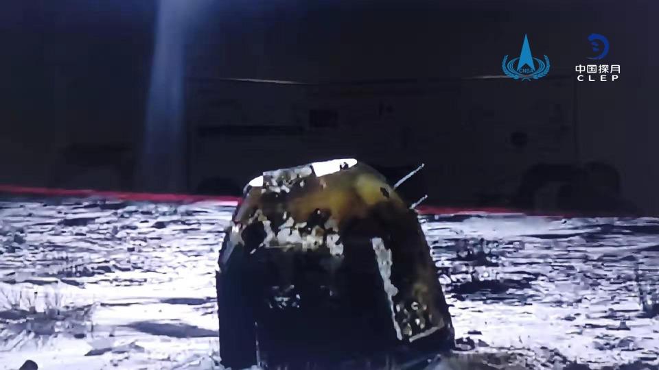 當代中國-中國航天-嫦娥五號返回地球