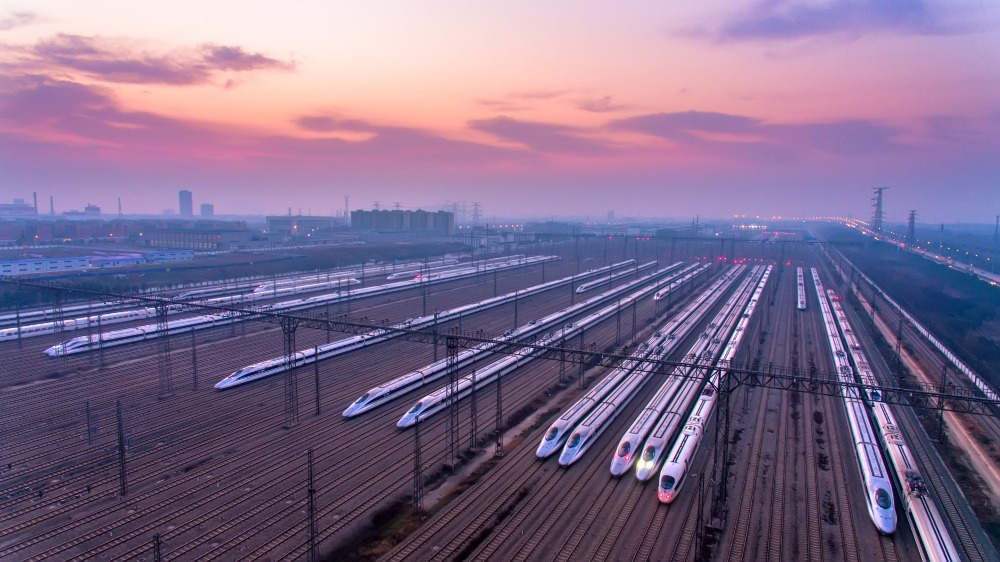 當代中國-中國高鐵-高鐵提速01