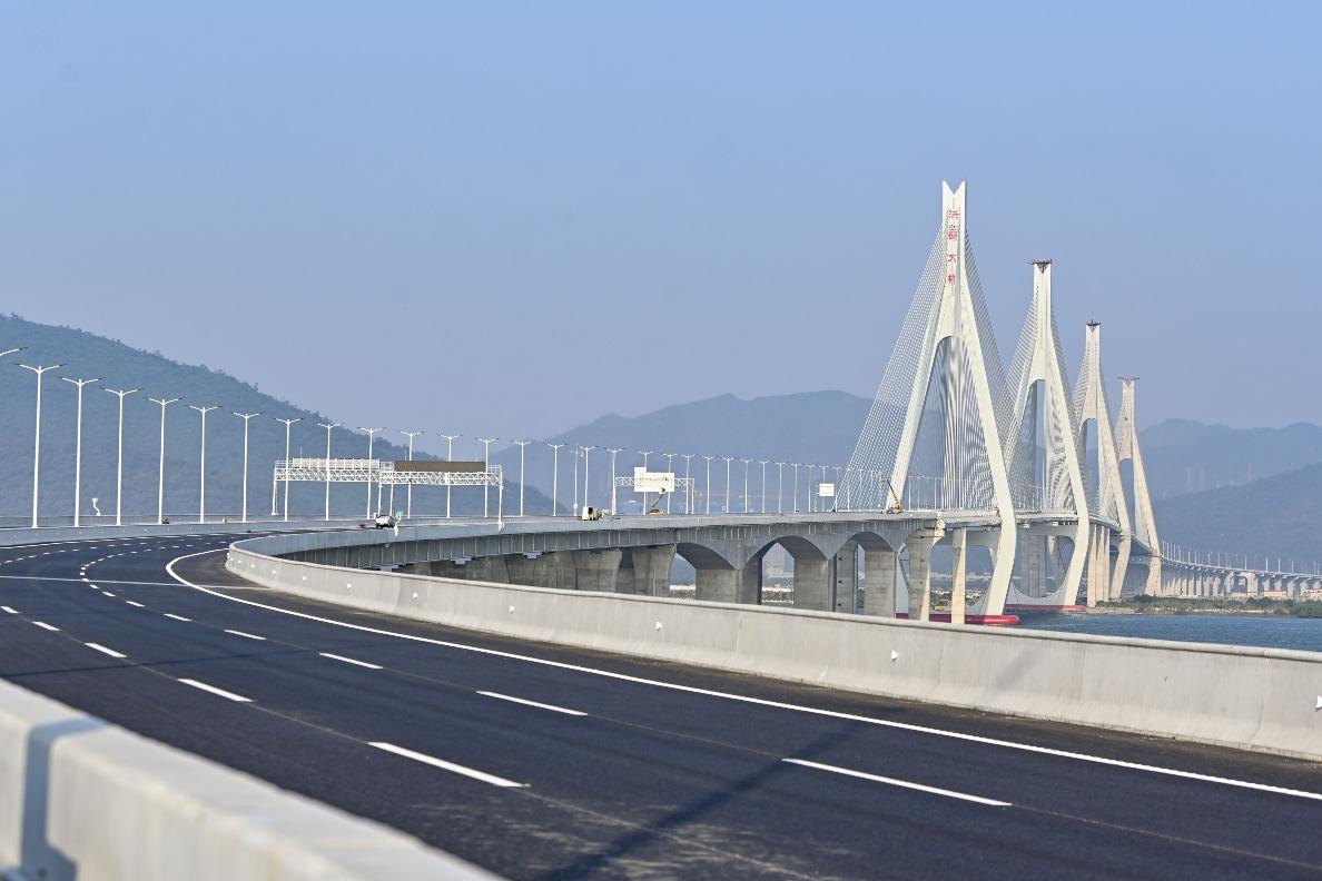當代中國-粵港澳大灣區-洪鶴大橋