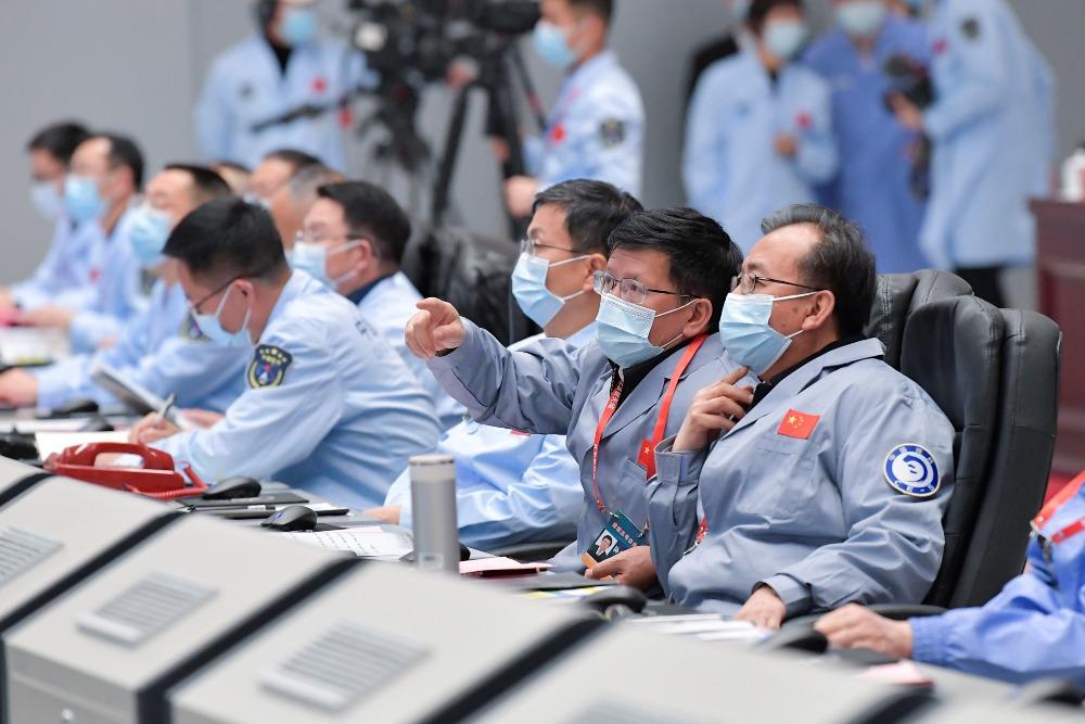 當代中國-今日熱話-嫦娥五號完成採樣