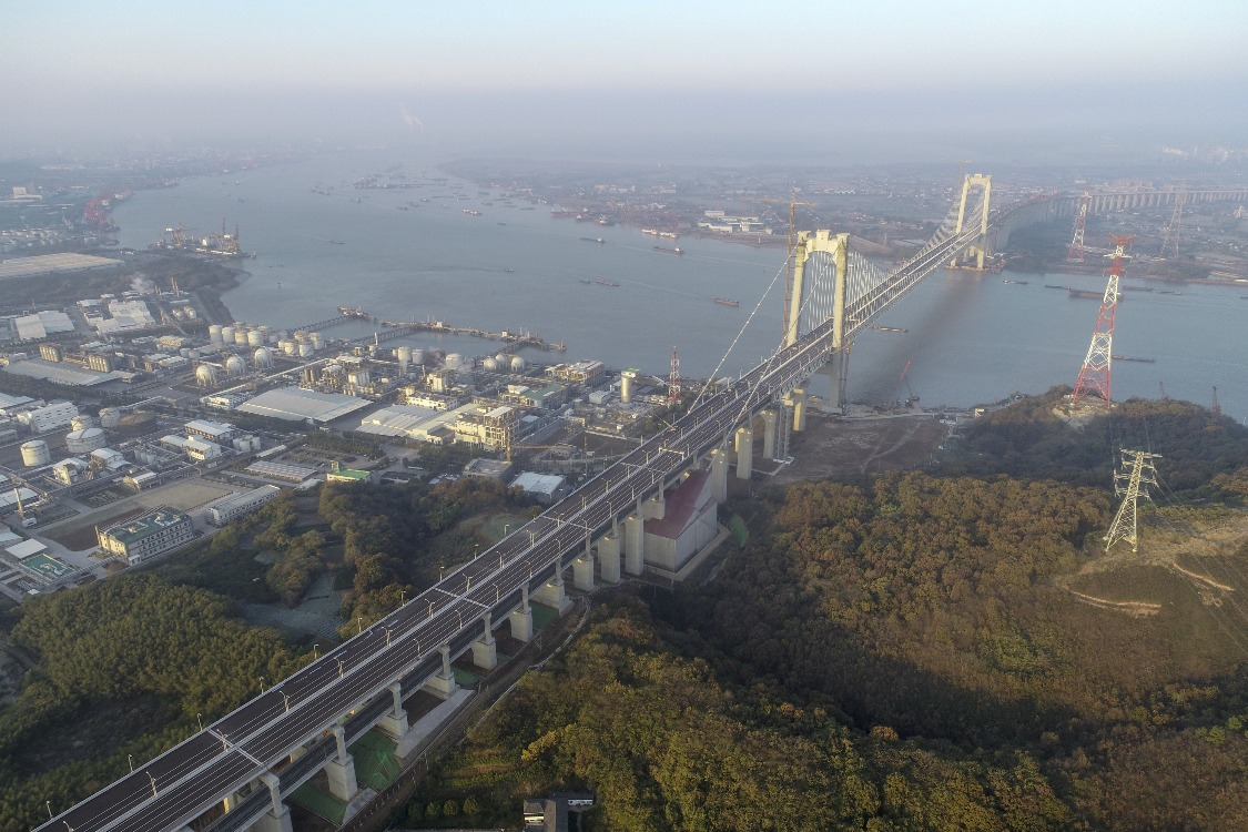 當代中國-焦點中國-今日熱話-五峰山長江大橋01