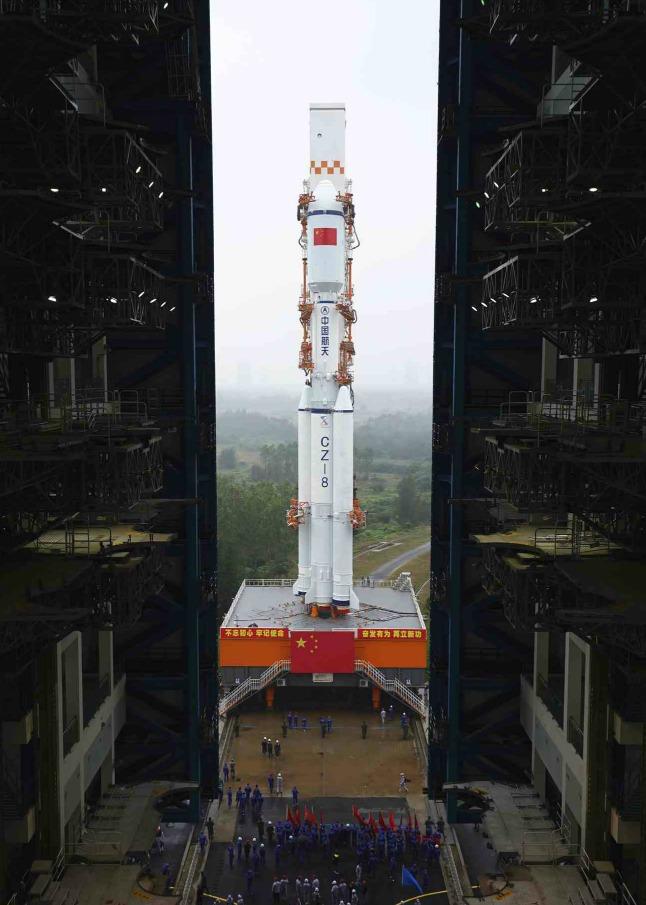 當代中國-長征八號火箭