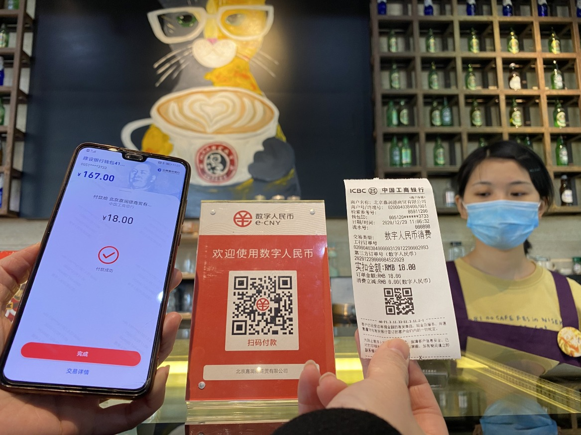 當代中國-中國經濟-數字人民幣2