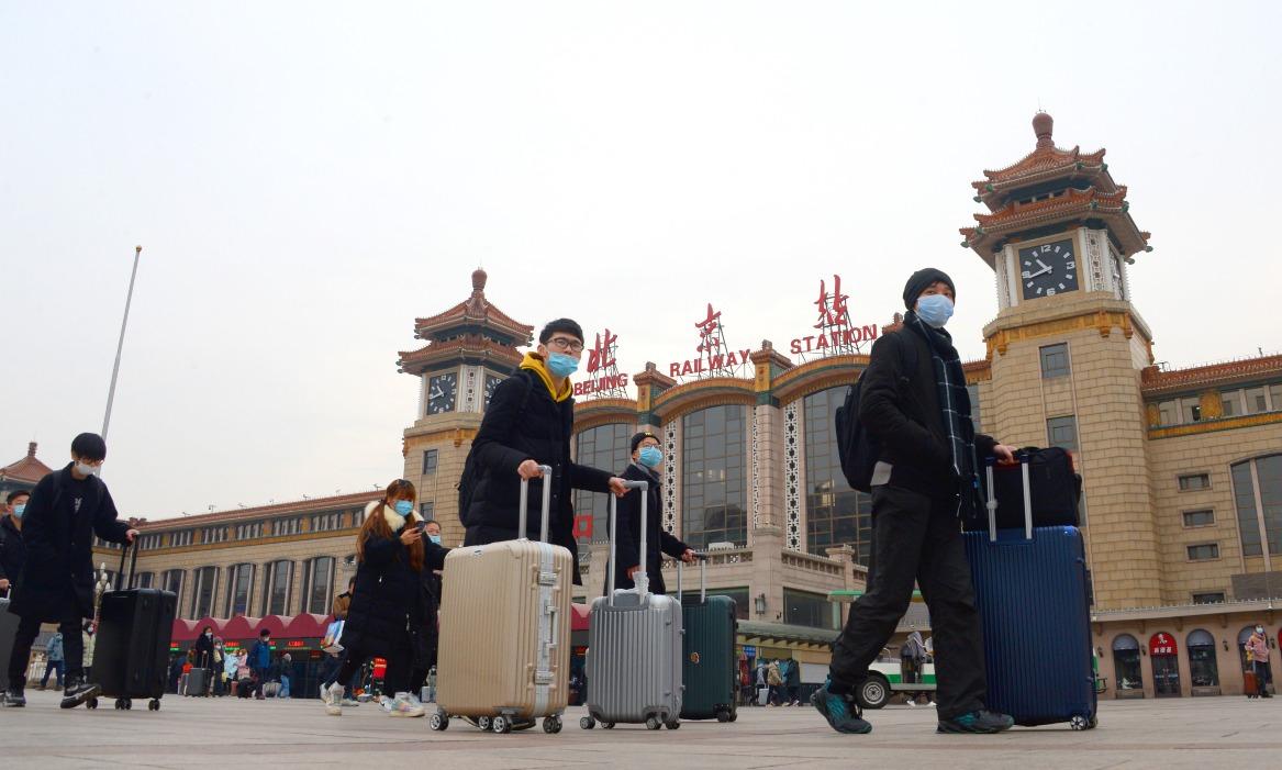 當代中國-寒潮襲來-北京低溫