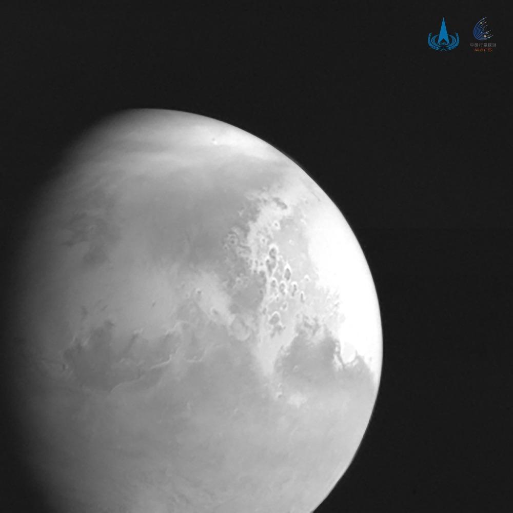 當代中國-中國新聞-天問火星捕獲1