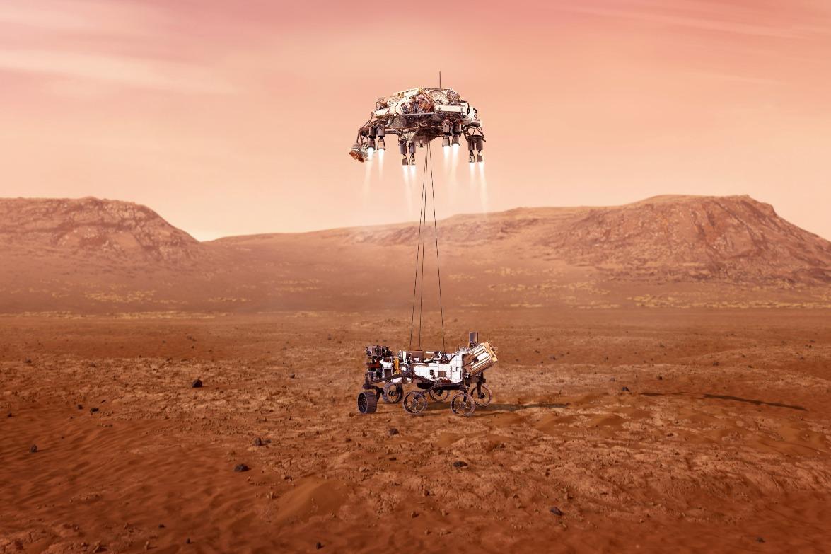 當代中國-中國新聞-天問火星捕獲3