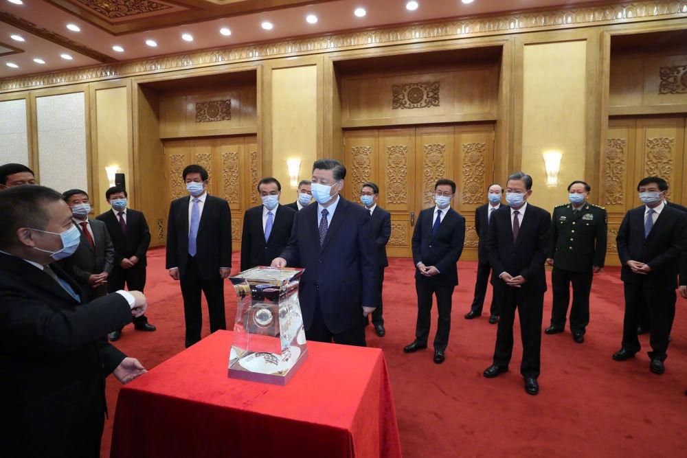 當代中國-中國新聞-月球土壤1