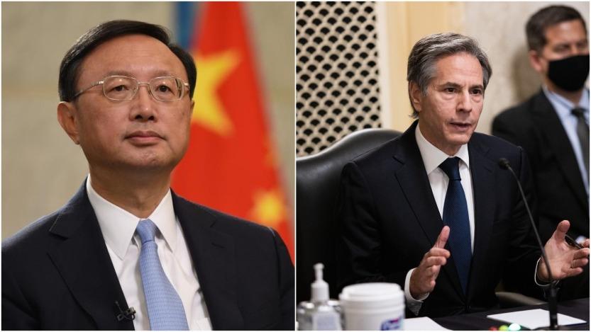 當代中國-中國新聞-中美高層2