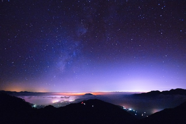 270度的觀景區,可以看台中的日出、日落、夜景。 (圖片來源:Getty)