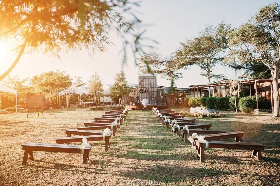 森之王子民宿擁有戶外設施,可以供給舉辦婚禮用途。(圖片來源:森之王子民宿Facebook)