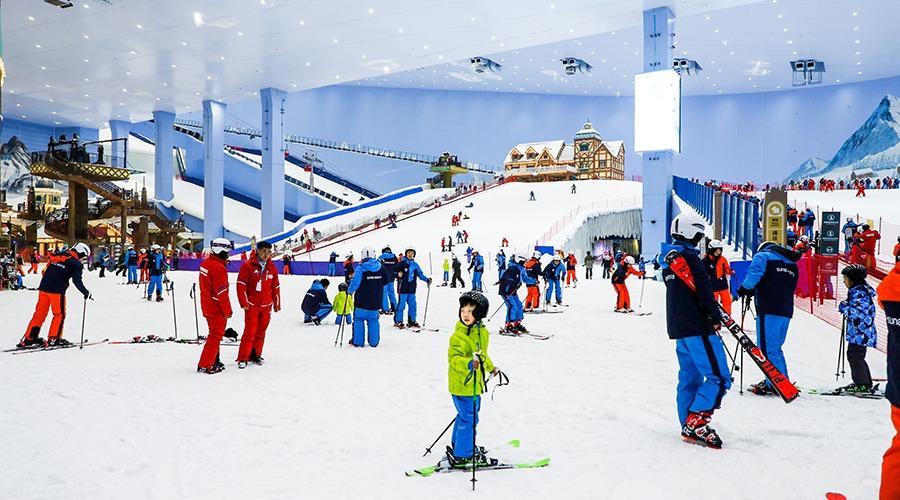 當代中國-潮遊生活-旅遊風物-廣州融創雪世界
