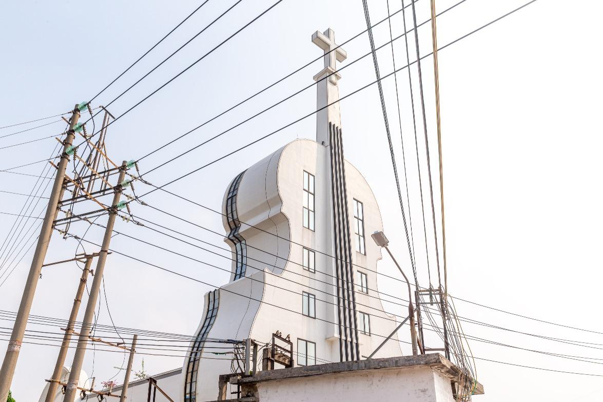 當代中國-中國旅遊-廣東旅遊-佛山-佛山小提琴教堂-02