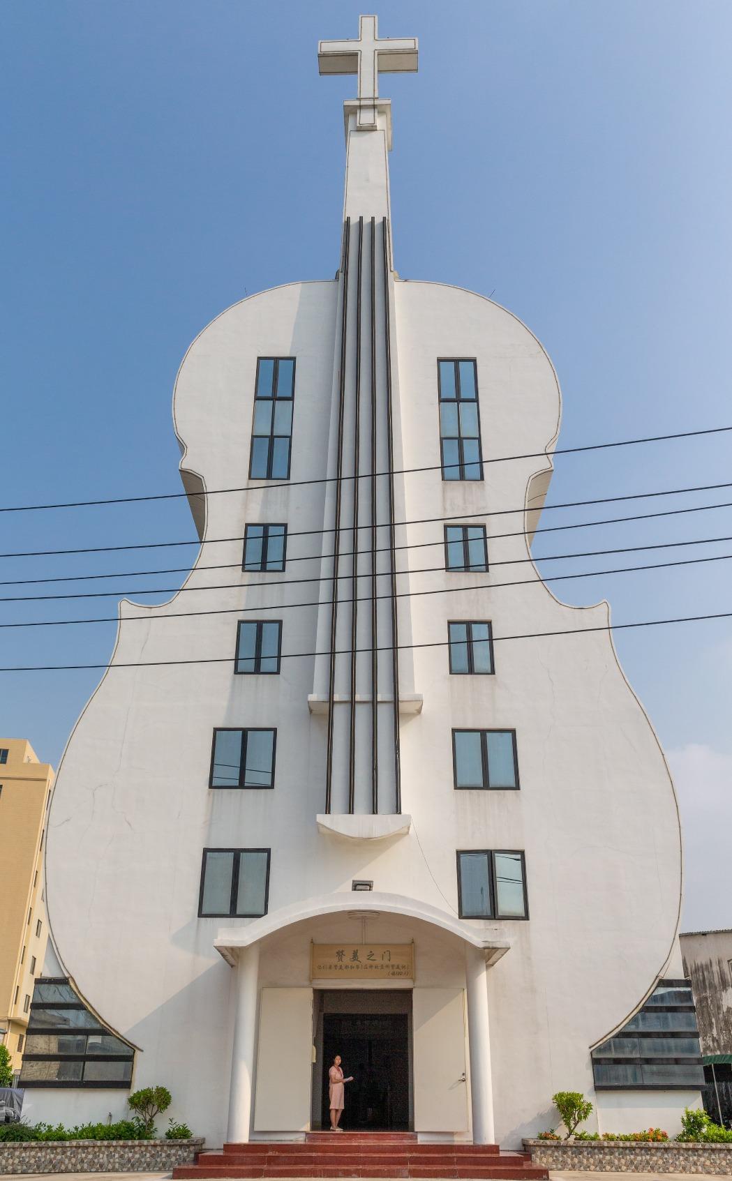 當代中國-中國旅遊-廣東旅遊-佛山-佛山小提琴教堂-03