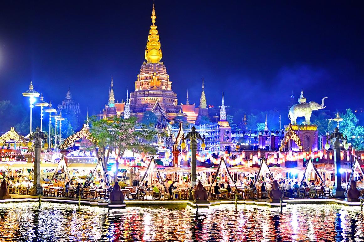 當代中國-中國旅遊-雲南旅遊-雲南西雙版納-星光夜市-01