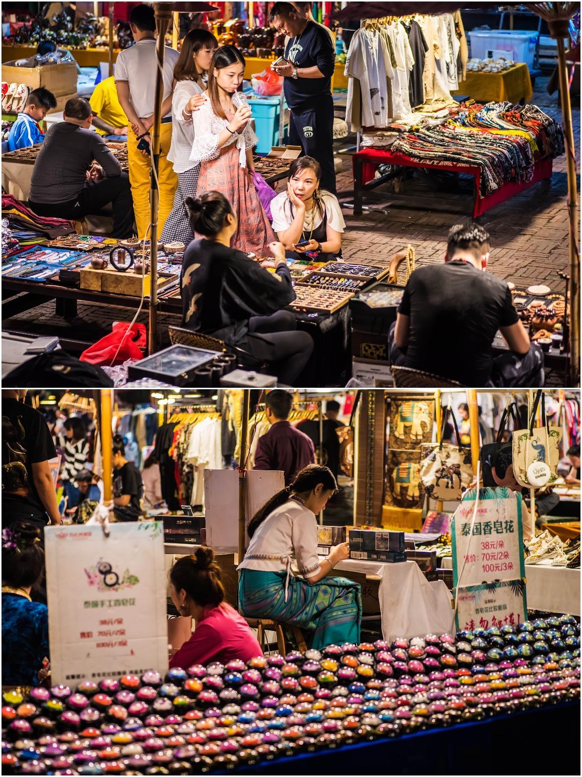 當代中國-中國旅遊-雲南旅遊-雲南西雙版納-星光夜市-05