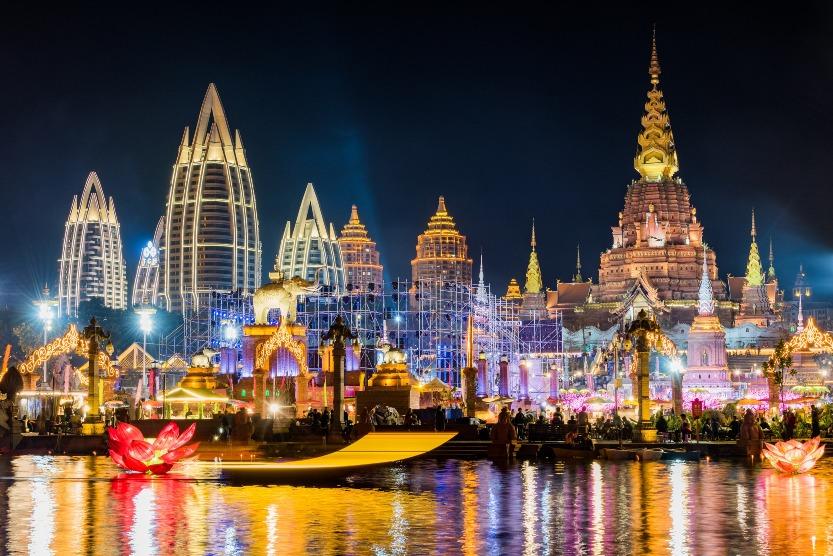 當代中國-中國旅遊-雲南旅遊-雲南西雙版納-星光夜市-06