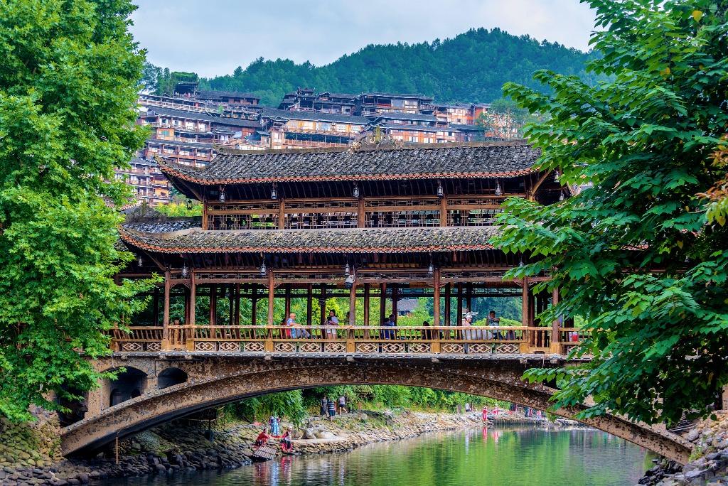 當代中國-潮遊生活-旅遊風物-西江苗寨