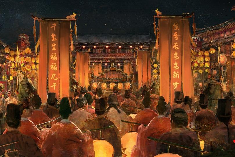 當代中國-中國旅遊-西安-西安旅遊-西安大唐不夜城-01