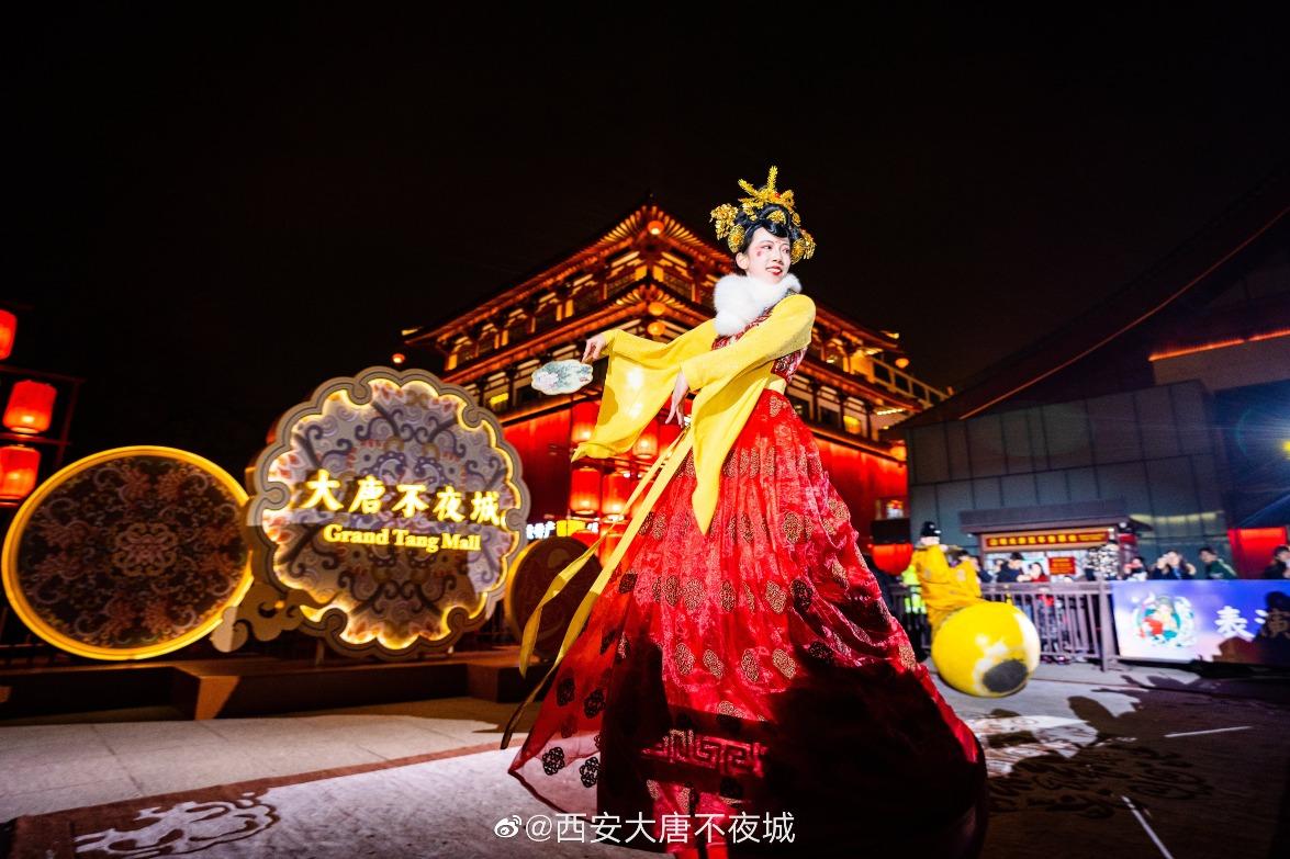 當代中國-中國旅遊-西安-西安旅遊-西安大唐不夜城-03