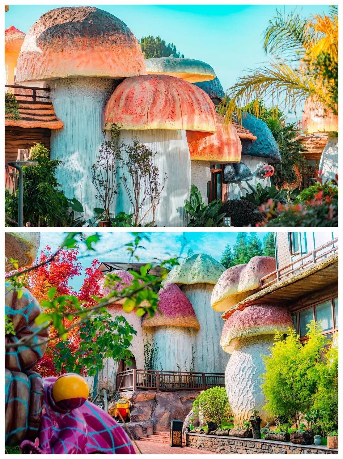當代中國-中國旅遊-貴州旅遊-貴州-貴州蘑菇酒店-01