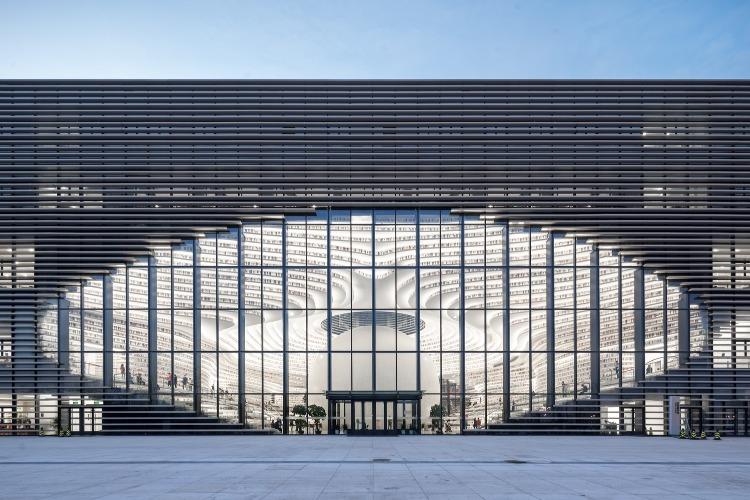 當代中國-潮遊生活-旅遊風物-天津濱海圖書館