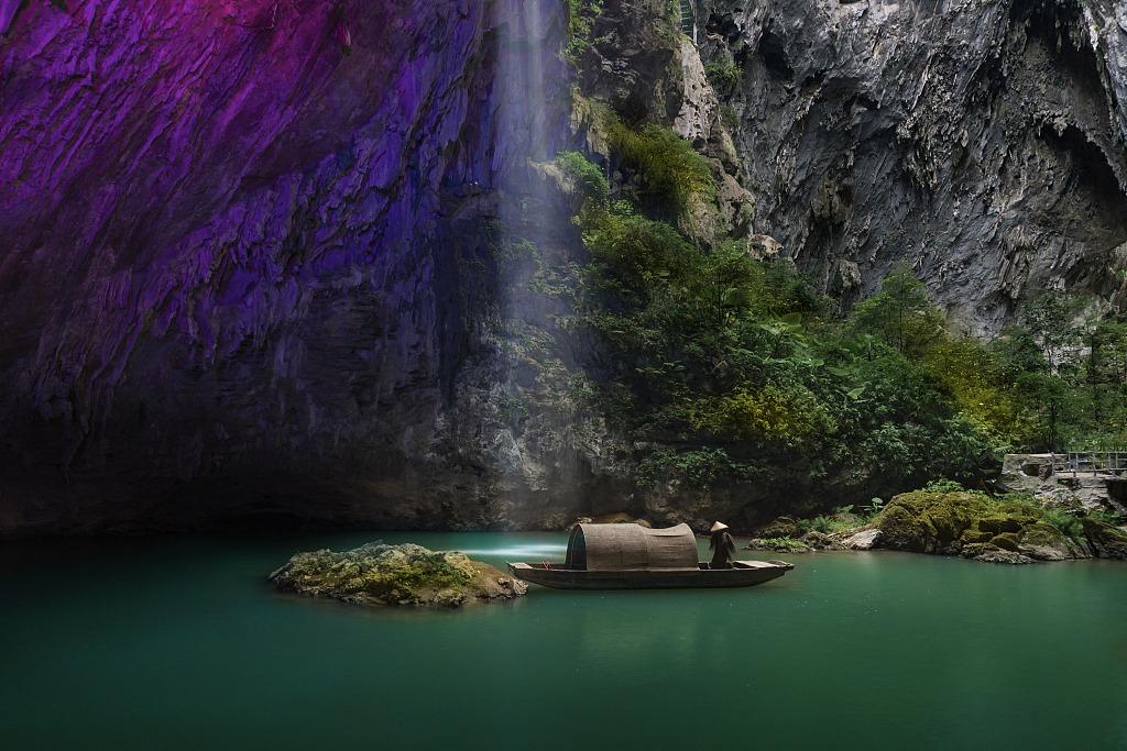 當代中國-潮遊生活-旅遊風物-英西峰林走廊
