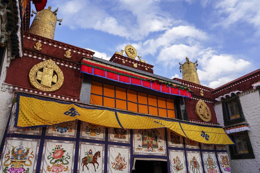 當代中國-潮遊生活-旅遊風物-西藏拉薩