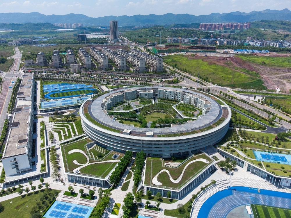 當代中國-潮遊生活-旅遊風物-重慶南開兩江中學