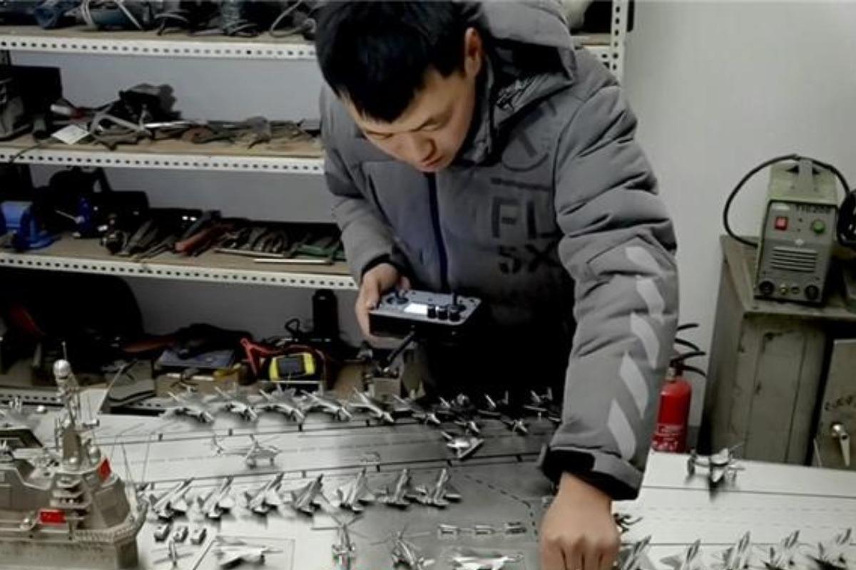當代中國-潮流中國-潮流-不鏽鋼航母