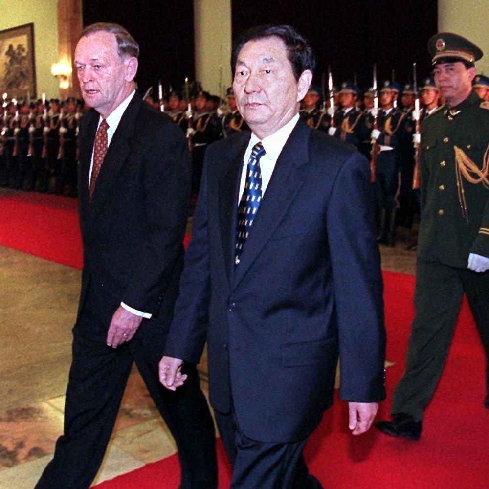 當代中國-改革開放-朱鎔基最頭痛的事情