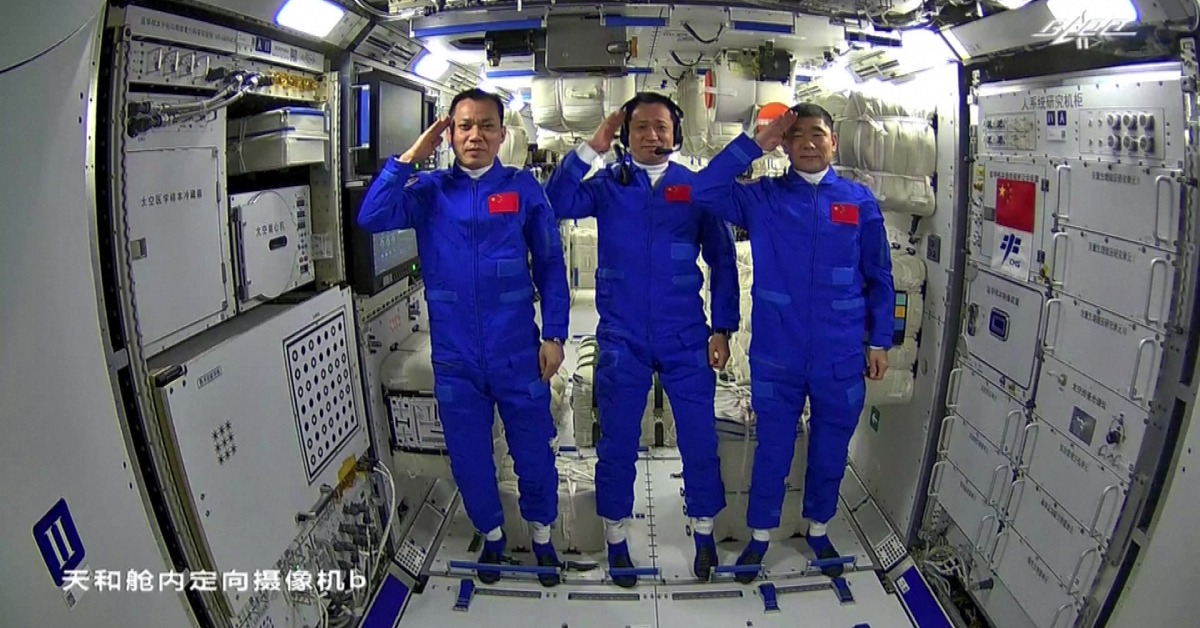 當代中國-中國科技-航空航天-天和生活