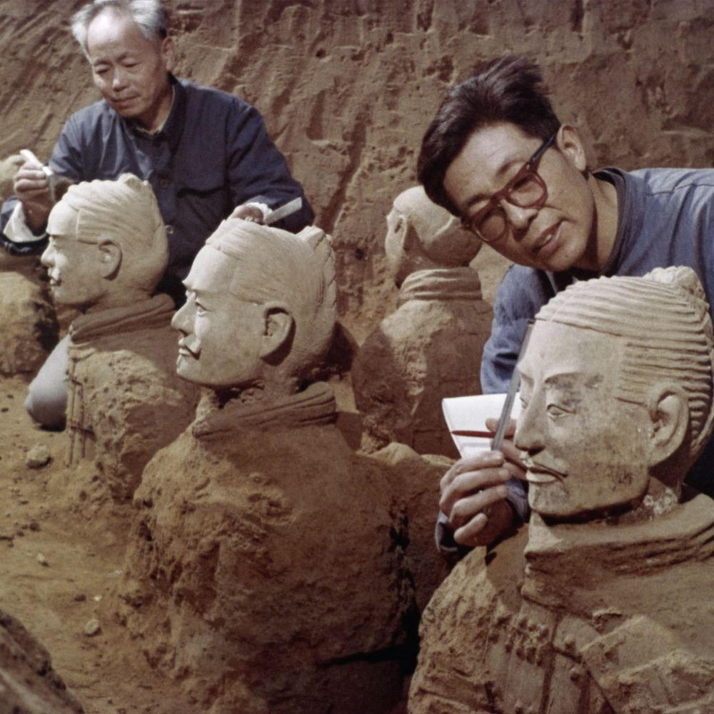 當代中國-中國文化-中國歷史-兵馬俑