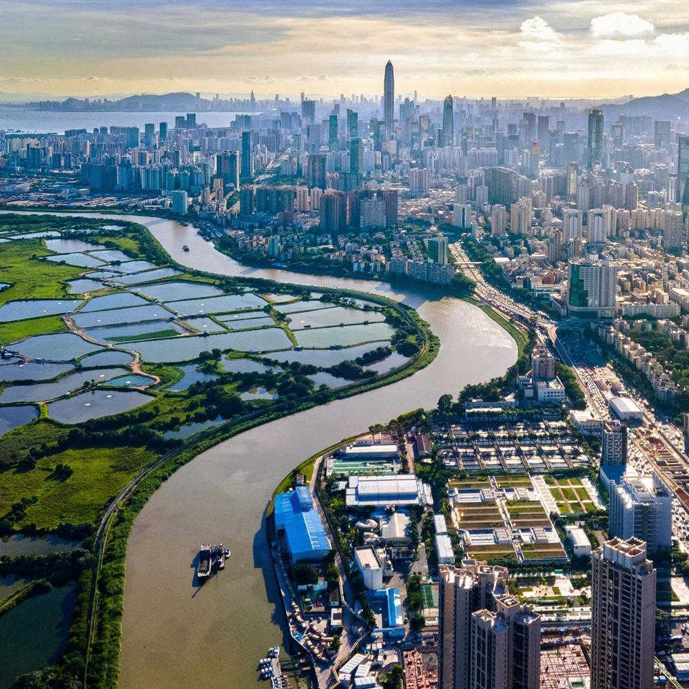 當代中國-改革開放-深圳河