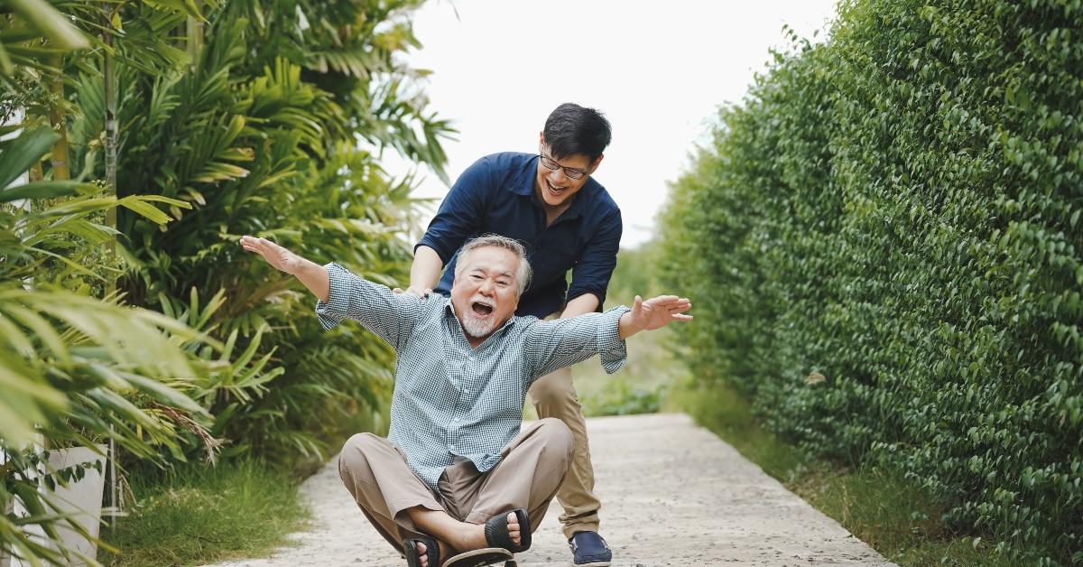 當代中國-名家觀點-李焯芬人生導航父親節的禮物