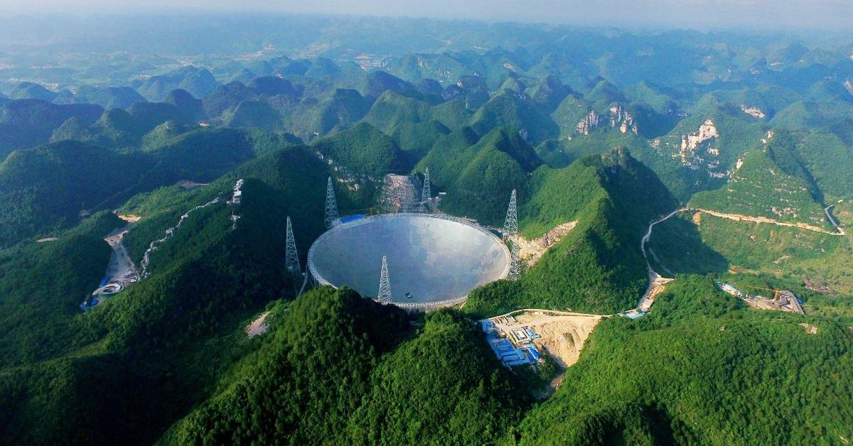 當代中國-中國旅遊-中國天眼