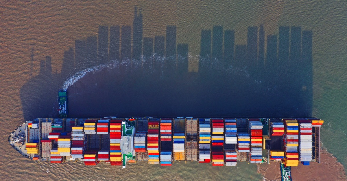 當代中國-中國經濟-洋山深水港