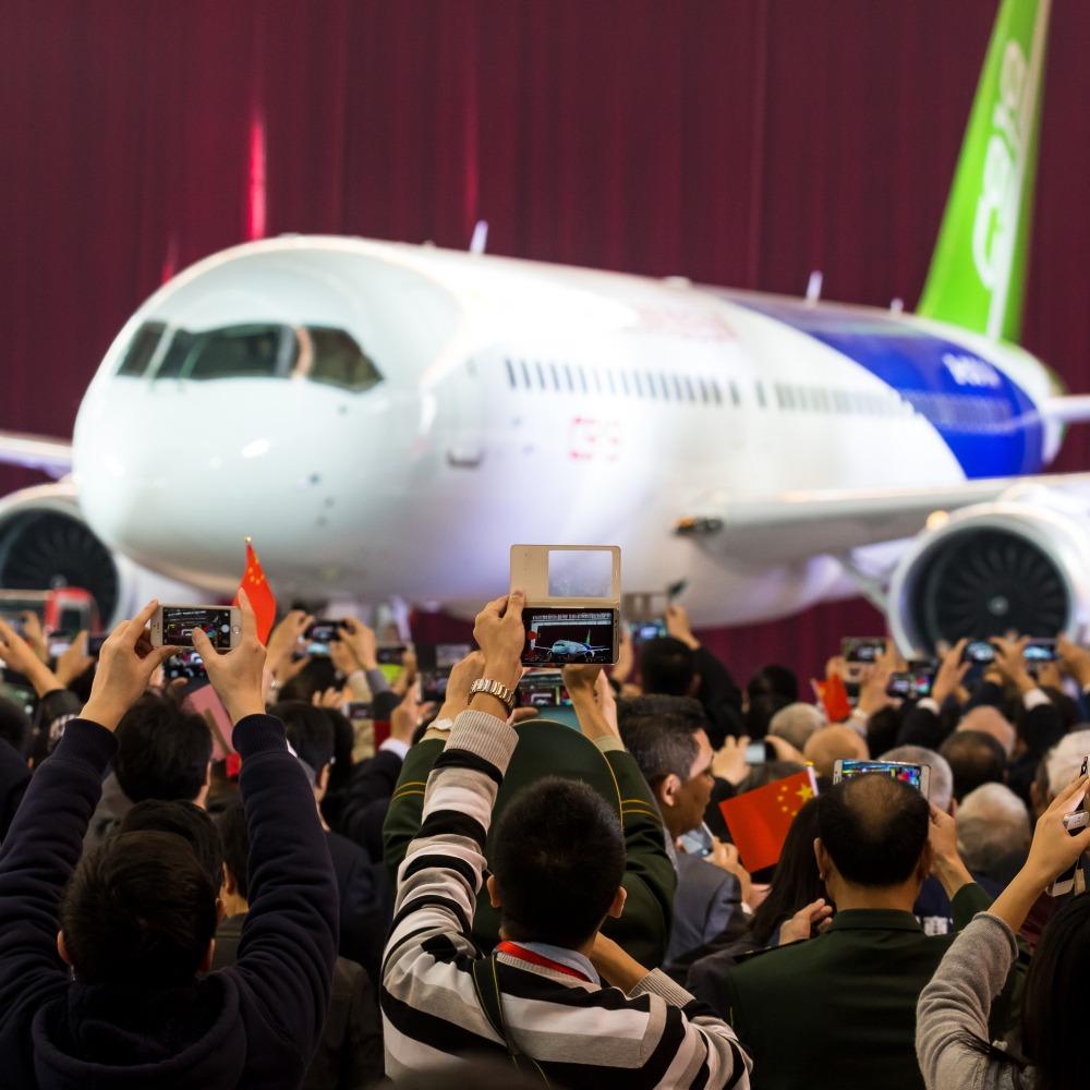 當代中國-C919客機