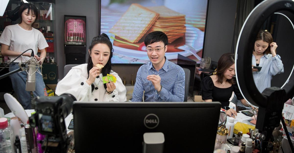 當代中國-中國經濟-中國新聞-網紅消費