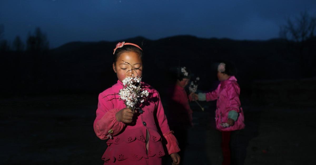 當代中國-攝影師記錄留守兒童